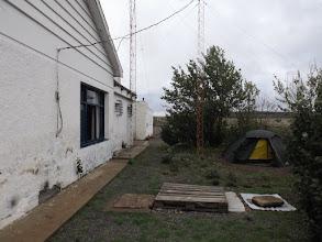 Photo: Verlassene Polizeistation.