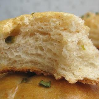 Potato and Scallion Bread Rolls.