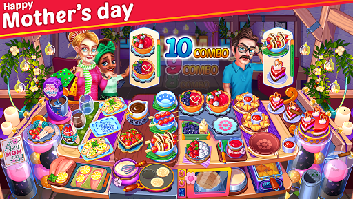 Cooking Party Star : Chef Restaurant Cooking Games  screenshots 2
