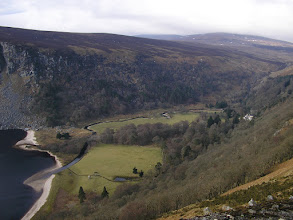 Photo: View of Luggala from the road above