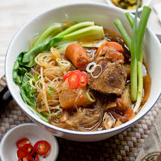 Glass Noodles in Oxtail Stew.
