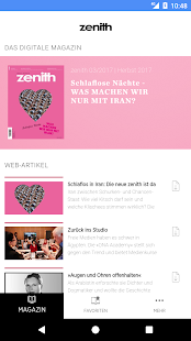 zenith Magazin - náhled