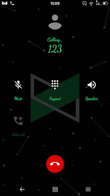 Dark Material Substratum Theme screenshot 2