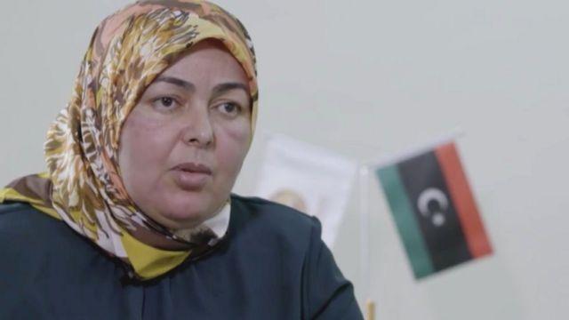 Libyan MP Raabiya