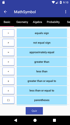 Math Symbol Apk Download Apkpure