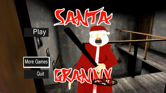 Scary Santa Granny Horror mod 2020 Apk Download For Android 1