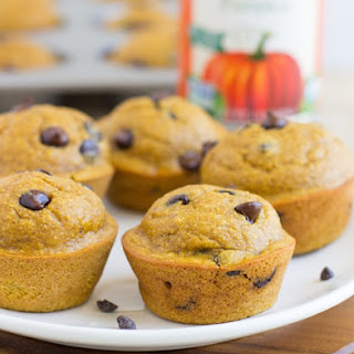 Healthy Flourless Pumpkin Muffins.
