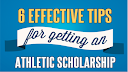 6 tips for an Athletic scholarship