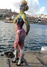 Photo: A modelo Filipa Abrantes reside nas Caldas
