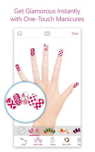 YouCam Nails - Manicure Salon for Custom Nail Art  screenshots 2