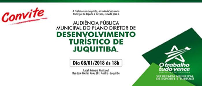 Audiência Pública Municipal do Plano Diretor de Juquitiba