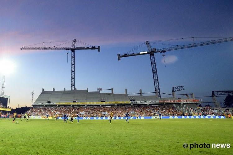 La nouvelle tribune du FC Malines complètement ouverte ce samedi contre OHL
