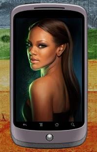 Rihanna Wallpaper - náhled