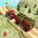 Drive Tractor trolley Offroad Cargo- Free 3D Games icon