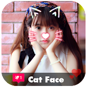 Cat Face Photo Filter - Frame