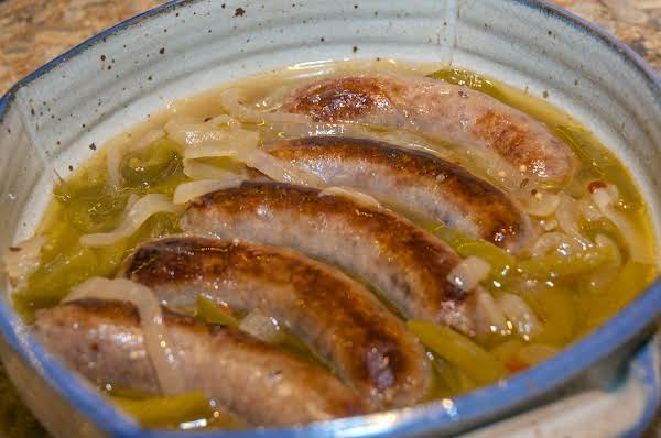 Summer Essentials: Brats, Peppers, Onions In Beer Recipe