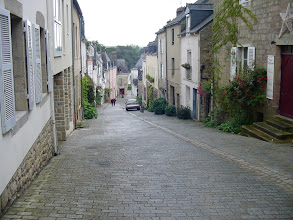 Photo: We move to the nearby town of Auray, with a modern section, and an older St-Goustan quarter.