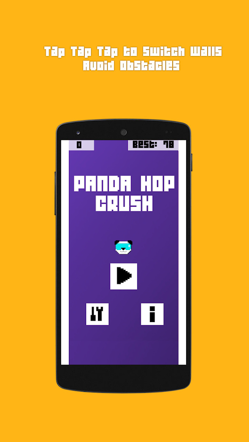 Panda Hop Crush- screenshot