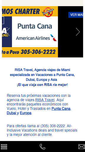 Screenshot for RISA Travel in United States Play Store