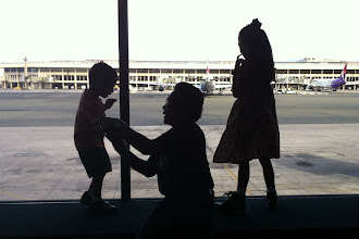 Photo: Getting ready for the flight from Honolulu to Spokane