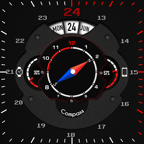 android Phroton Interactive Watch Face Screenshot 29