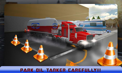Oil Tanker Truck Parking 2015