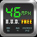 Speedometer GPS HUD icon