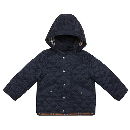 Primary image of Burberry Navy Quilted Jacket