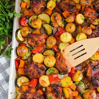 Chicken Potato And Vegetable Bake Recipes.