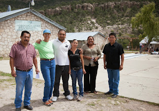 Photo: Pilar with teachers