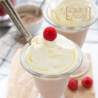 Chocolate and Vanilla (Twist-Style) Frosty