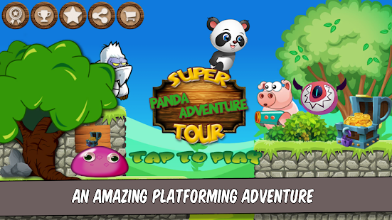 Super Panda Adventure Tour - náhled
