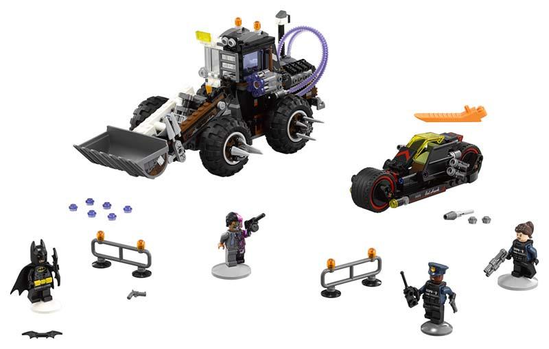 Contenido de Lego® 70915 Doble Demolición de Dos Caras