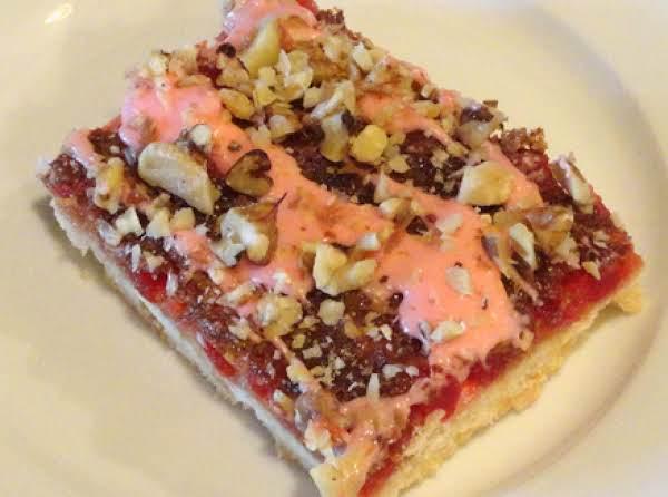 Maraschino Cherry Bars Recipe