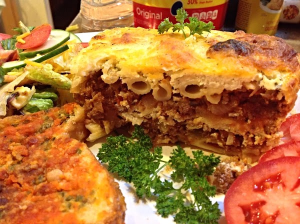 Recycled Meal-penne Pasta Lasagna Recipe