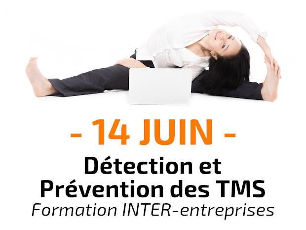 Détection et Prévention des Toubles Musculo-Squelettiques (TMS) Formation Inter-entreprises