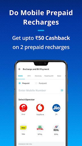Paytm - BHIM UPI, Money Transfer & Mobile Recharge screenshot
