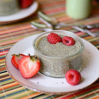 Green Tea Chia Seed Pudding