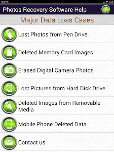 Photos Recovery Software Help screenshot 2