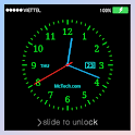 Live Clock Lock screen icon