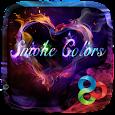 Smoke Colors GO Launcher Theme apk