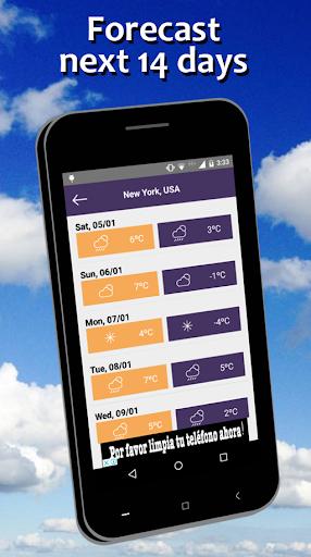 Weather Forecast free screenshot 3