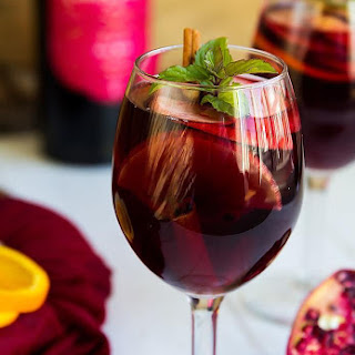 Pomegranate Orange Sangria