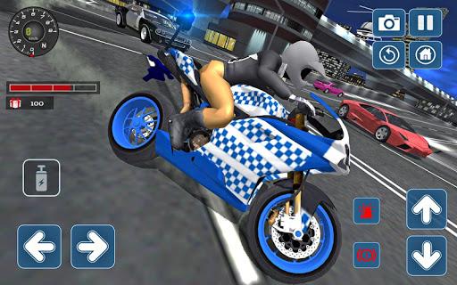 Police Motorbike 3D Simulator 2018 1.0 screenshots 2