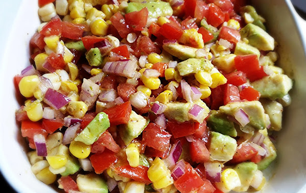 ~ My 4th Of July Salsa ~ Recipe