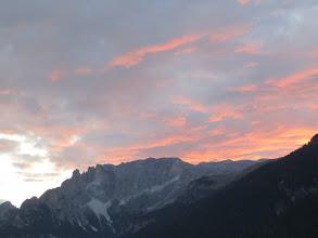 Photo: Dolomites sunset