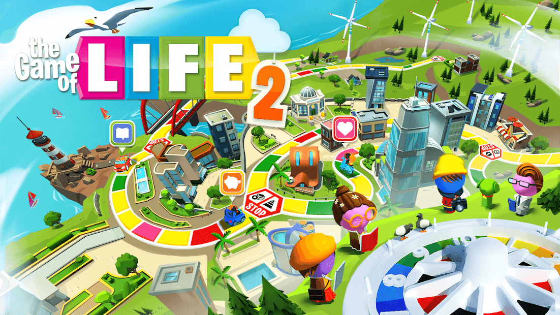 THE GAME OF LIFE 2 - More choices, more freedom! Android App Screenshot