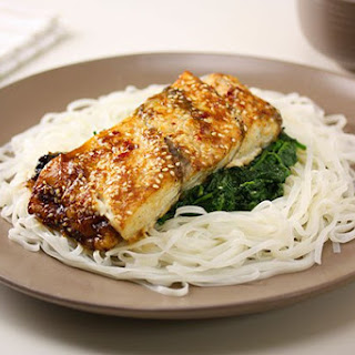 Asian Style Baked Fish.