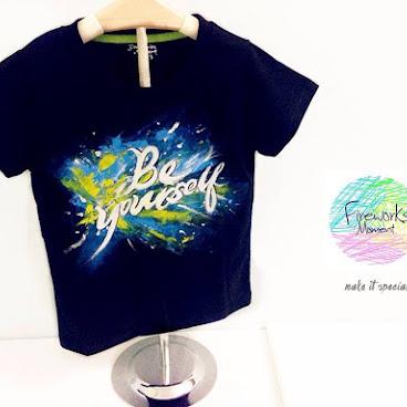文字t-shirt(訂製款)