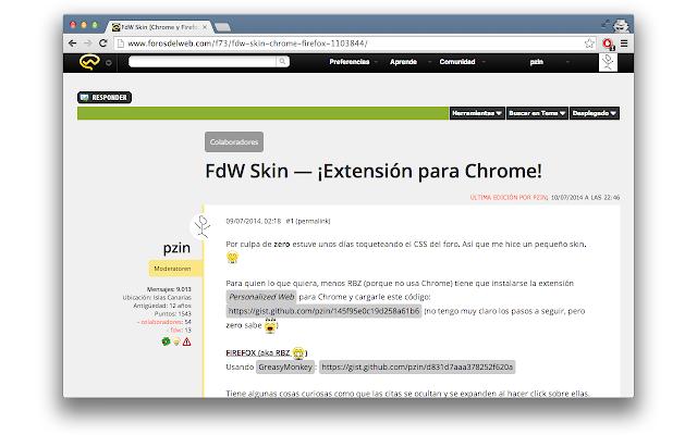 Foros Del Web Skin